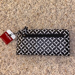 Black and White Mundi Wallet Brand New With Tag